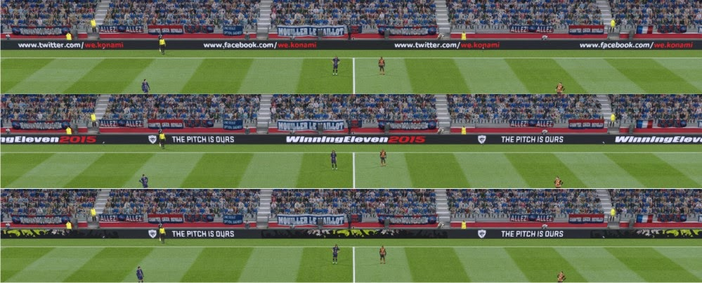 PES 2015 The Pitch Is Ours Adboard by supalids