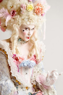 Rococo Hairstyle and Headwear