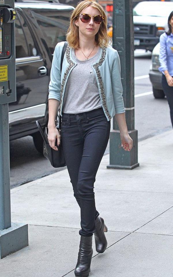 Emma Roberts's Street Style