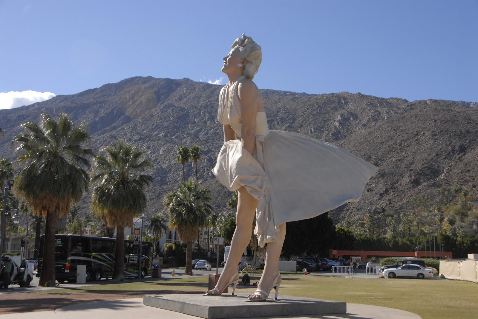Marilyn Monroe in Palm Springs