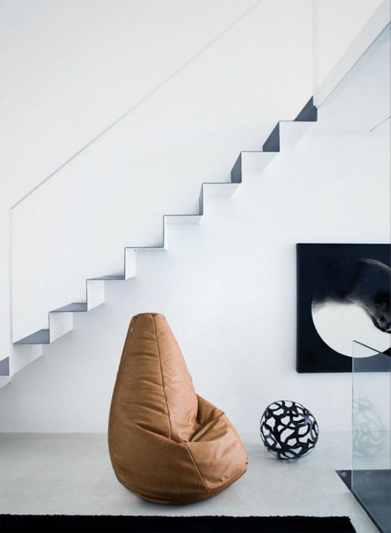 Arte y arquitectura puffs de dise o butaca acco de - Puffs de diseno ...