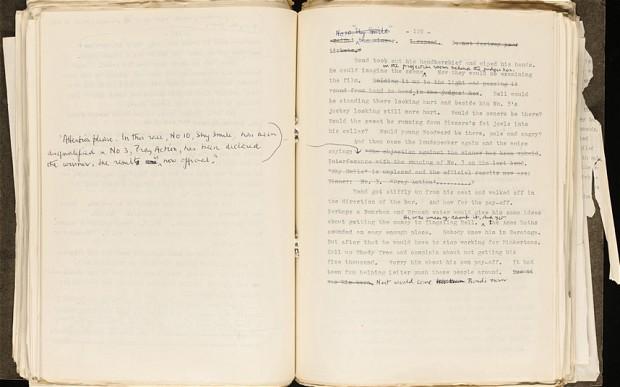 novel manuscript