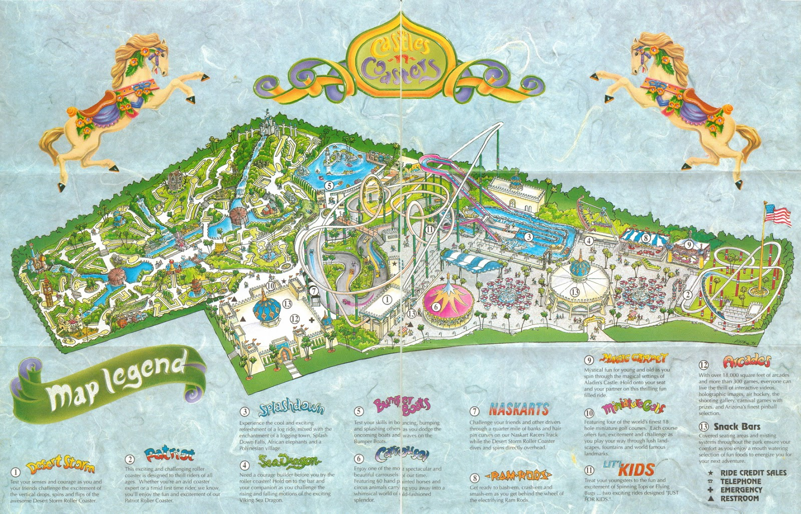 Castles and coasters coupons