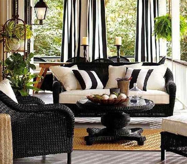 Black Furniture Ideas For Living Room