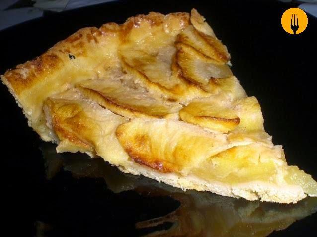 receta tarta manzana facil sencilla
