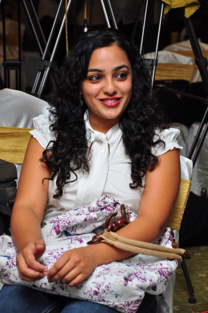 Nithya Menon Stills At Ala Modalaindi  Days Shield Functions Gallery unseen pics