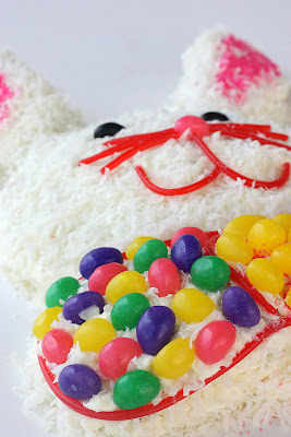 An easy Easter Bunny Cake - www.the-girl-who-ate-everything.com