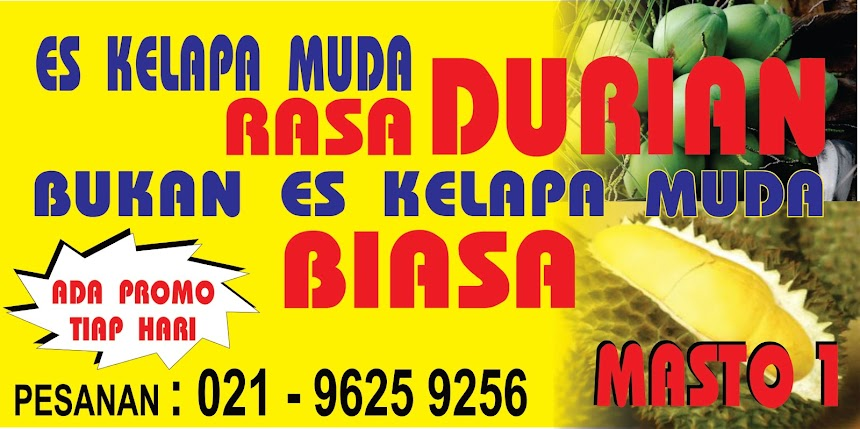 Es Kelapa Muda Rasa Durian