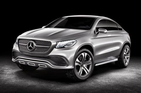 Mercedes Concept Coupe SUV MLC