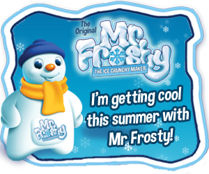 Mr Frosty is back!