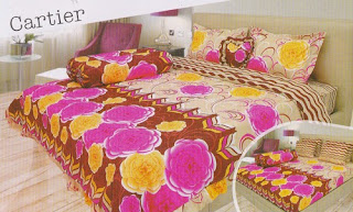 sprei Lady Rose Cartier