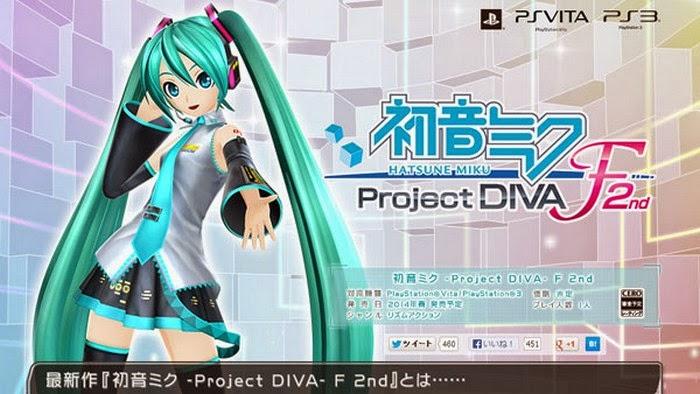 [ Info-Anime ] Video Promosi Pre Order Hatsune Miku Project Diva F 2nd Ditayangkan