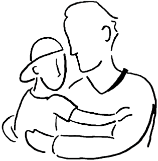 Father s Day Poems and Father s Day clip artOnly Father Clipart Black And White