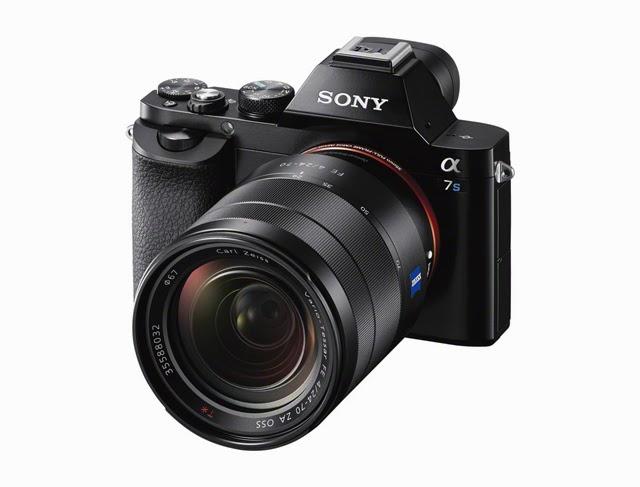 Fotografia della Sony A7s