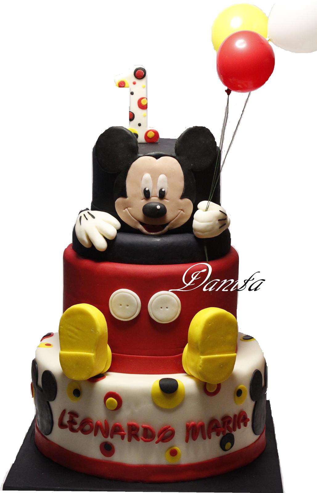 torta topolino