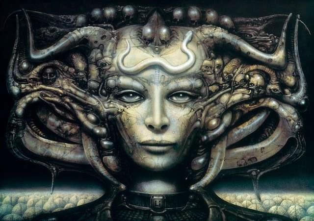 La nostalgía del arte Retro Sci-Fi