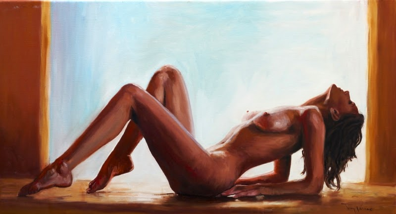 D.W.C. Woman & Nude - Painter Tony Pavone
