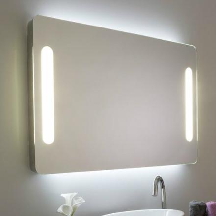 espejo bao con luz perimetral ure