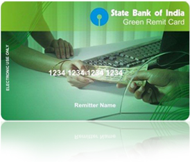 sbi green remit card application form