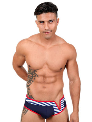 Pistol Pete Wired Brief with V-Wire Swimwear Gayrado Online Shop