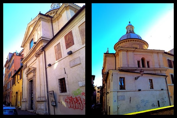 Sant'Eligio degli Orefici na via Giulia