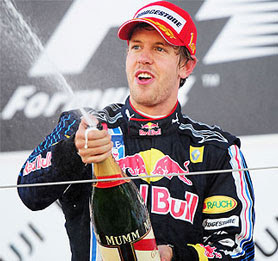 World Champion-Sebastian Vettel