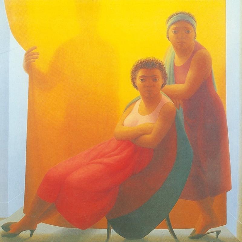George Clair Tooker 1920-2011 | American Magic Realist painter