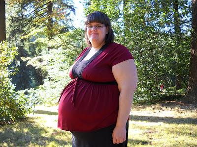 Фото беременные толстухи