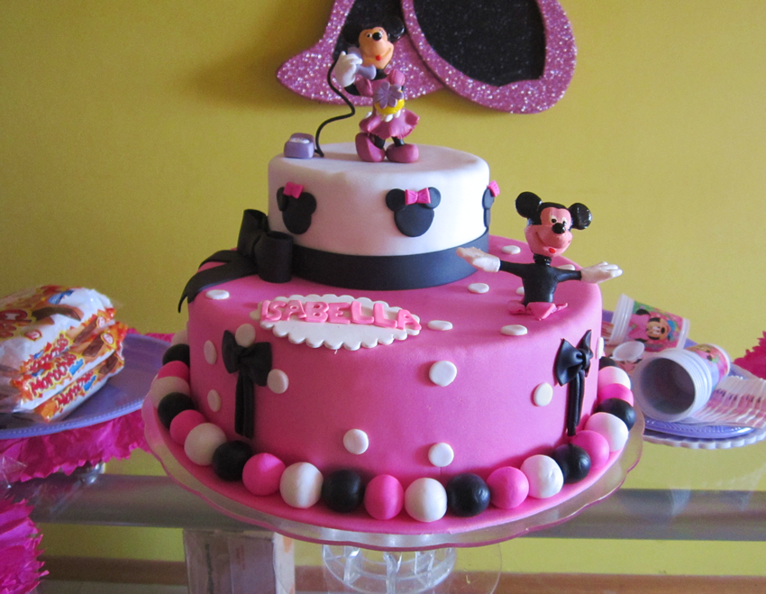 Torta Mickey Minnie Mouse