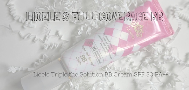 Lioele Triple the Solution BB Cream SPF 30 PA++ Review and Swatches, full coverage bb cream, Korean bb cream, NW15, NW20, NW25, NC15, NC20,NC25 neutral cool warm skin (1)