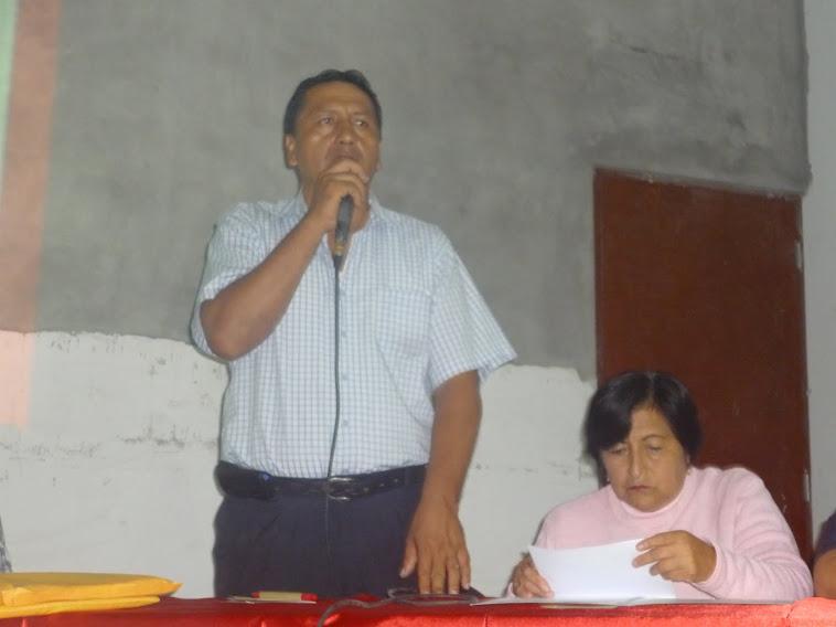 ALFREDO VELASQUEZ ACOSTA SECRETARIO GENERAL DEL SUTE REGIONAL LIMA