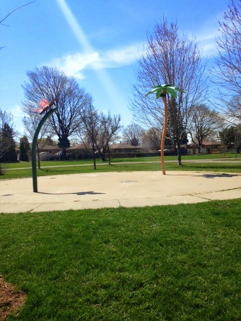 fairfield park playground equipment, fairfield park playground splash pad