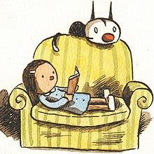 Un sillón es más cómodo con un libro...