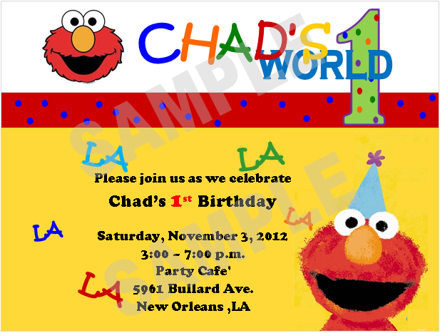 Elmo 1St Birthday Invitations correctly perfect ideas for your invitation layout