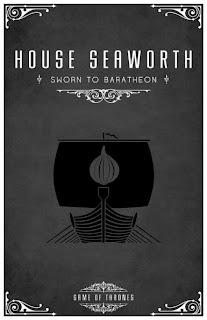 emblema casa Seaworth - Juego de Tronos en los siete reinos