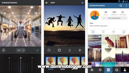 Captura y comparte con Instagram para Android
