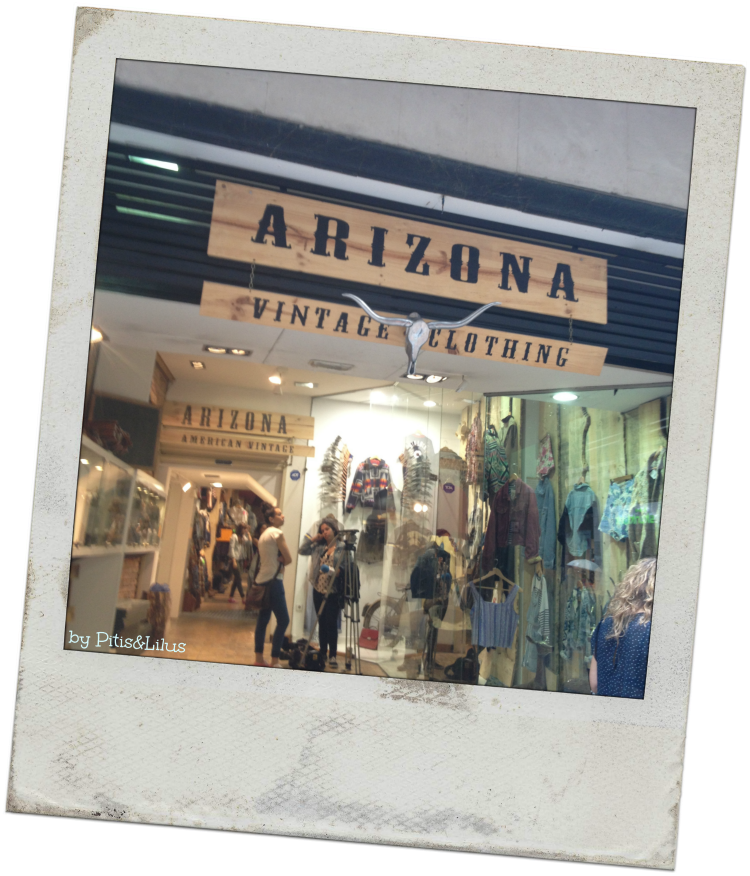 Arizona Vintage Clothing Bilbao cartel