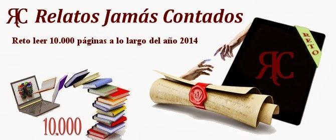 """Reto """"Leer 10.000 páginas en 2014"""""""