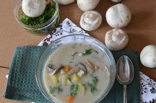 przepis zupa pieczarkowa z ziemniakami