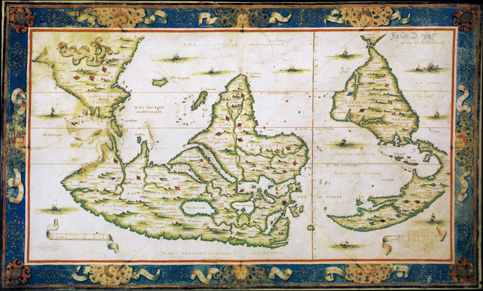 Ancient world maps world map 16th century world map 16th century gumiabroncs Image collections