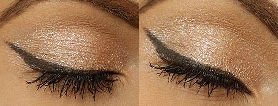 eye look with mac warming heart
