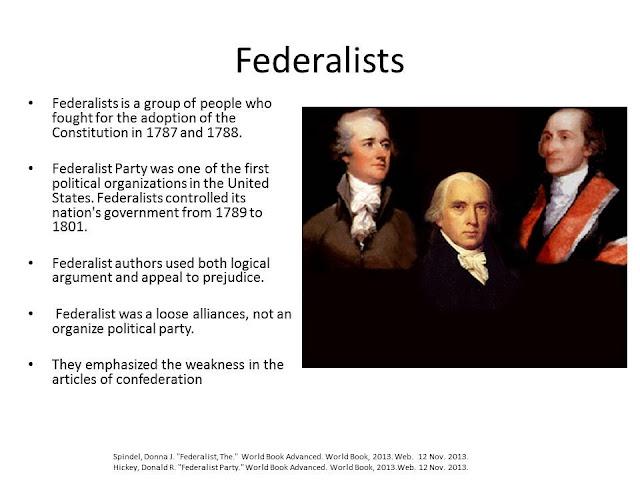 hamiltonian federalists Review opinions on the online debate jeffersonian anti-federalism triumphs hamilton's federalism.