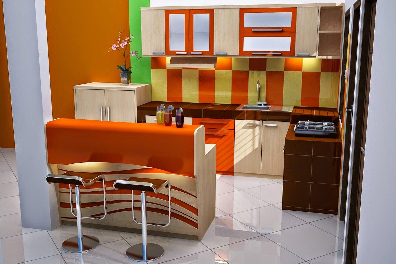 Desain Interior Dapur Mini Bar Homkonsep