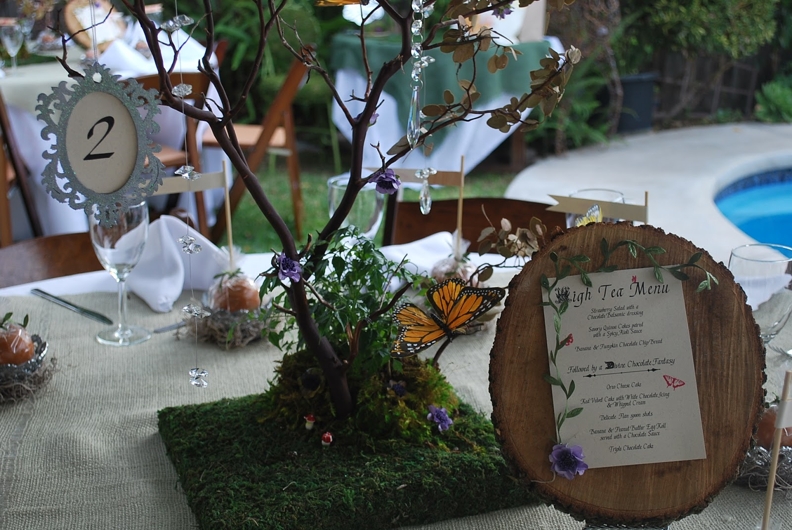 pepperlily events enchanted forest baby shower