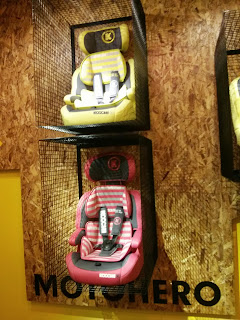 Koochi Motohero car seat