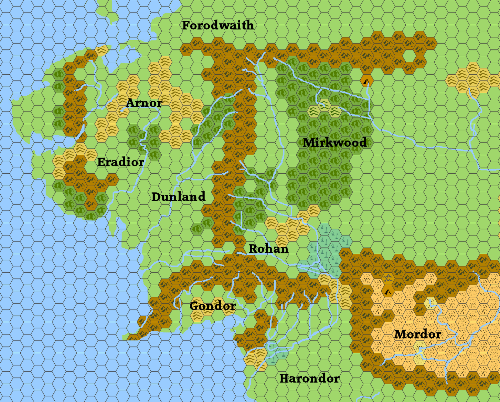 so i did it not a very detailed map but the kind of one you could use in a vanilla odd campaign