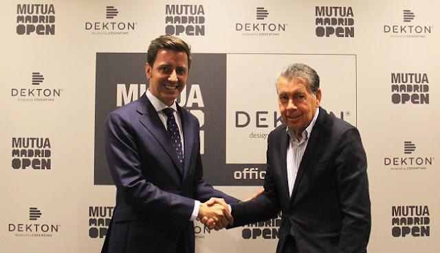 El Mutua Madrid Open será un torneo ultracompacto gracias a Dekton