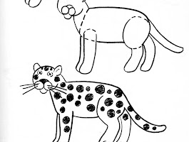 How To Draw A Jaguar Animal Step By Step