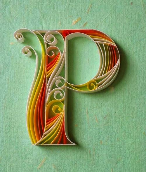 16-P-Quilling-Illustrator-Typographer-Calligrapher-Paper-Sculptor-Sabeena-Karnik-Mumbai-India-Sculptures-A-to-Z-www-designstack-co