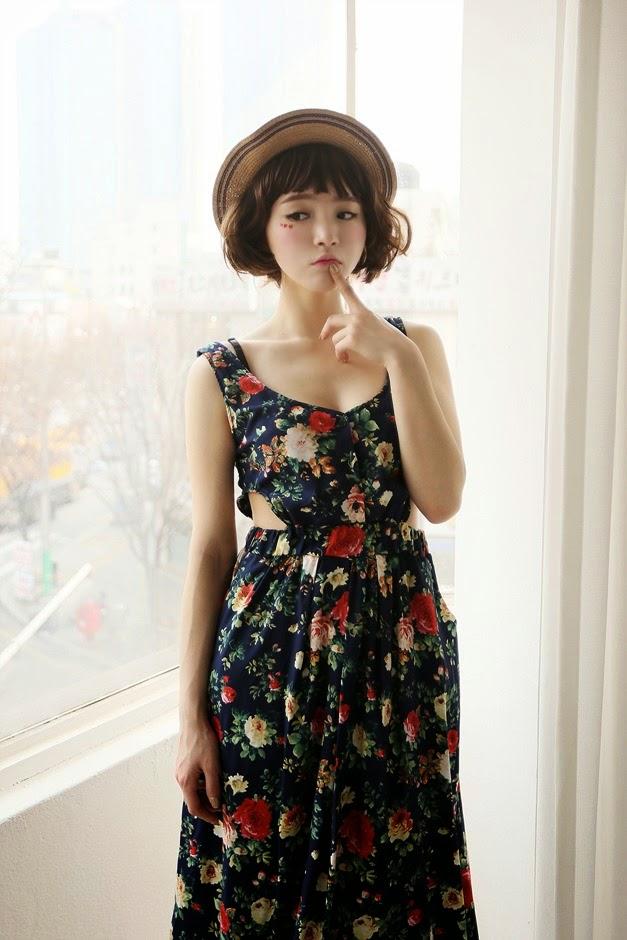 Lee Ho Sin Floral Dress